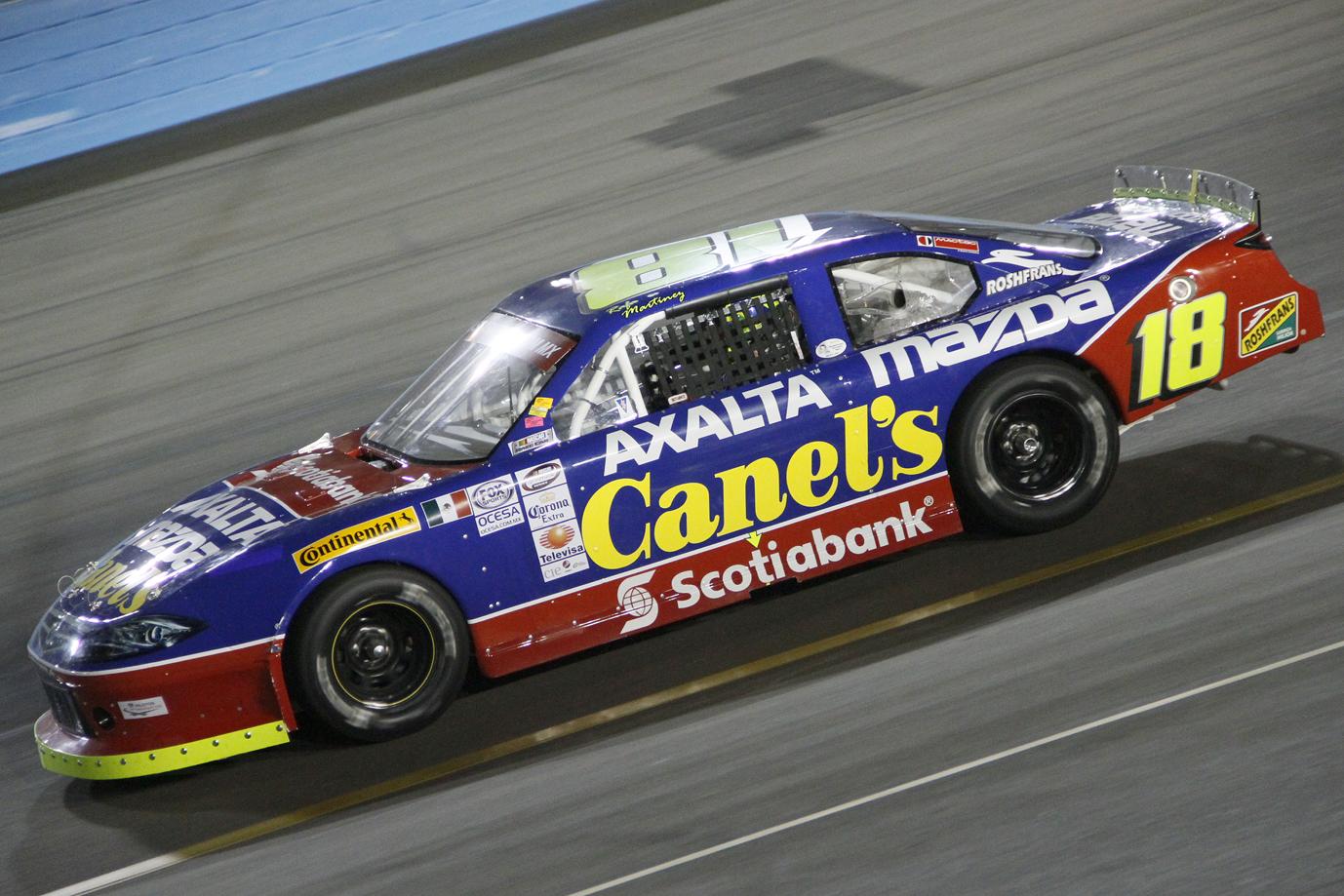 Rafael Martínez Busca Deshacer el Tabú de Canel´s Rasing en el AHR en la NASCAR MEXICO