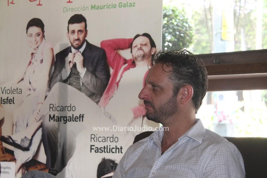Ricardo Fastlicht en Una semana… ¡nada más! divertir es su único objetivo