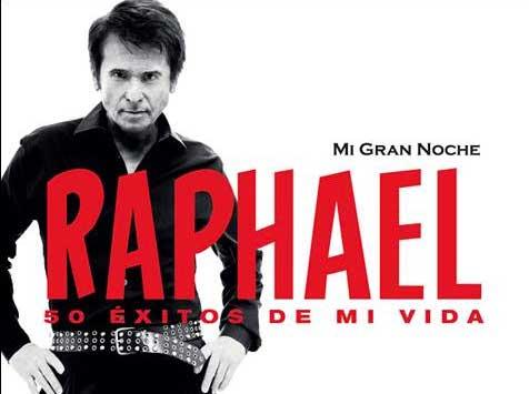 """Raphael. Su disco y su tour """"Mi Gran Noche"""""""