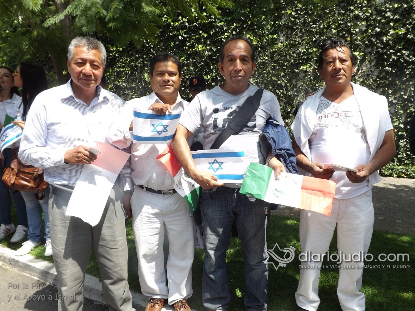 Mensaje desde el Ejército de Israel a los manifestantes en apoyo de la paz en México
