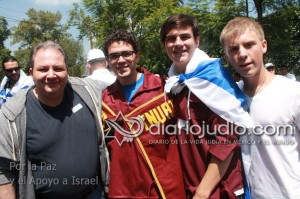 manifestacion pro israel 0208