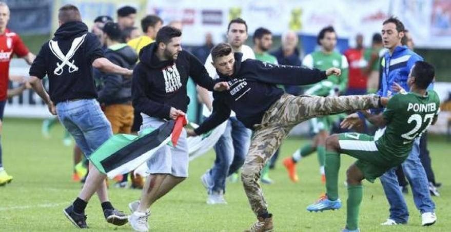 Palestinos llevan el conflicto a las canchas de futbol