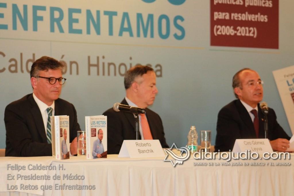 ATLETICO DE MADRID EN MXICO HUGO los retos que enfrentamos felipe calderon 0075