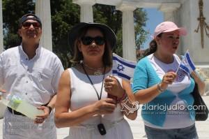 Manifestacion Pro Israel Hemicili Juarez  029