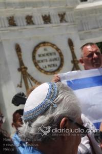 Manifestacion Pro Israel Hemicili Juarez  169