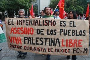 Manifestacion propalestina Mexico 0028