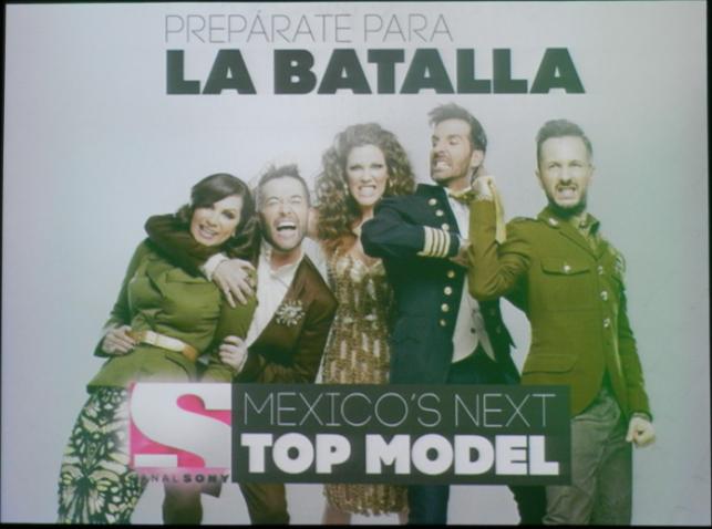 """Estreno de la Quinta Temporada """" MEXICOS NEXT TOP MODEL"""". Lunes 29 de Septiembre, a las 10 de la Noche"""