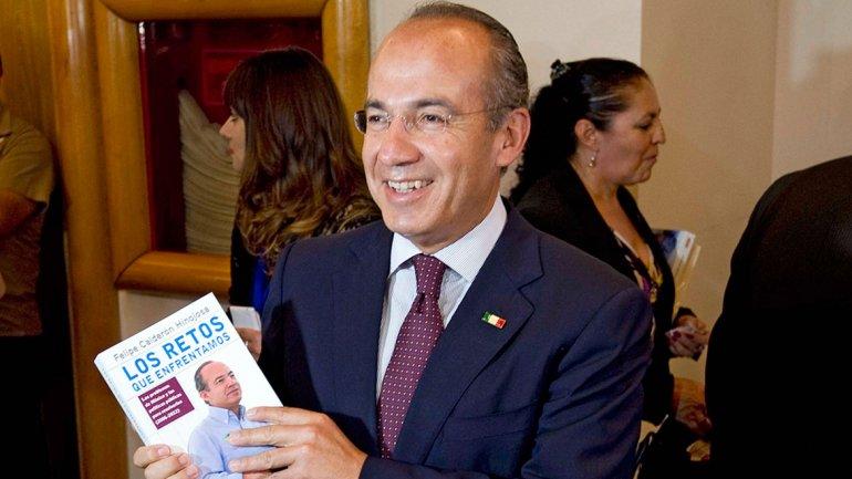 """La Historia y los ciudadanos juzgarán mi Presidencia Felipe Calderon y  """"Los retos que enfrentamos"""""""