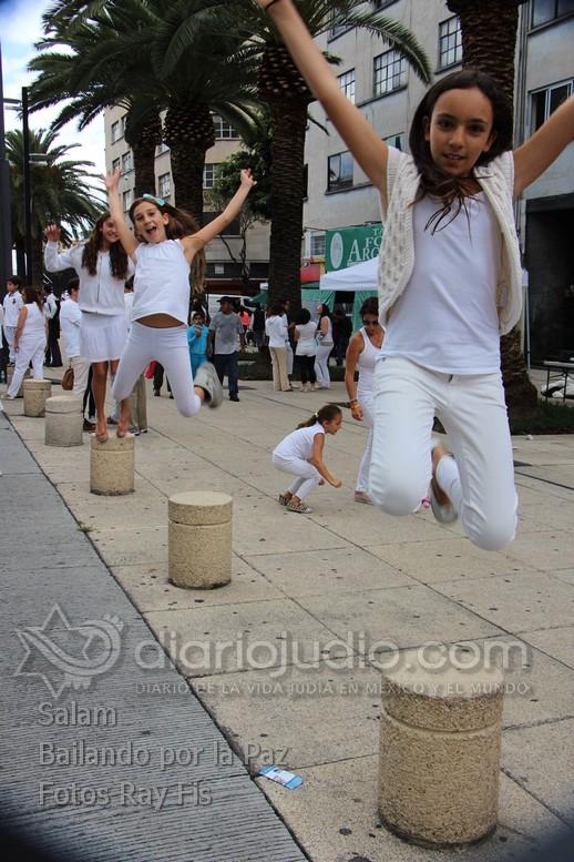 En México se baila por la Paz en Medio Oriente y el Mundo Salam