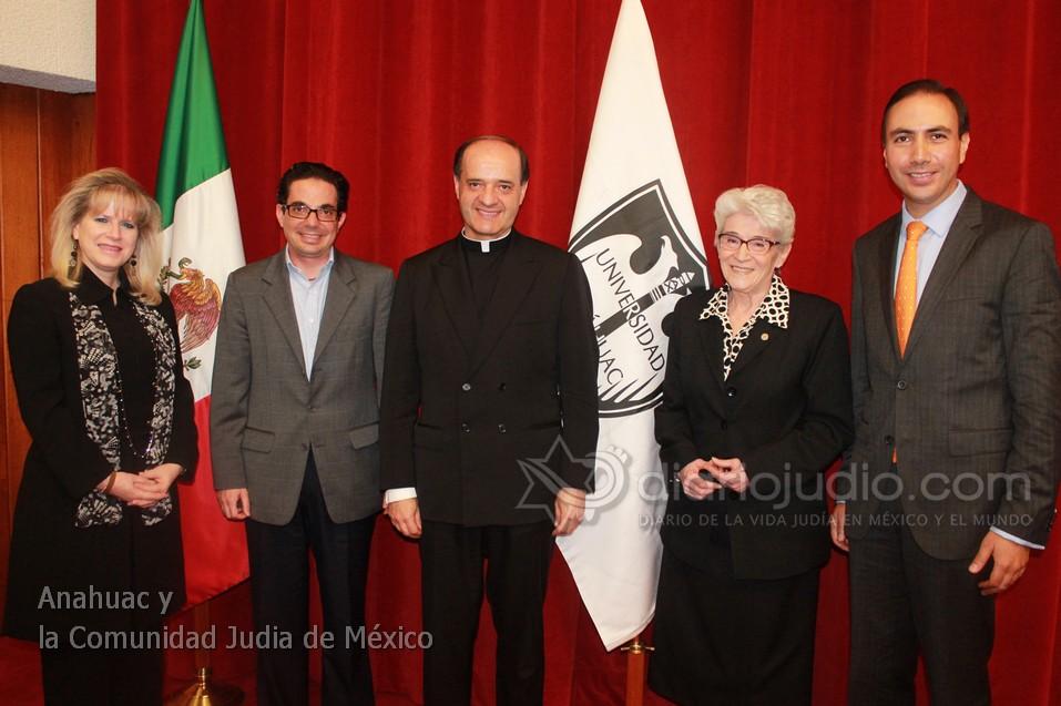 La Comunidad Judía  y la Universidad Anahuac México Mensaje del Rector Jesús Quirce Andrés, L.C.