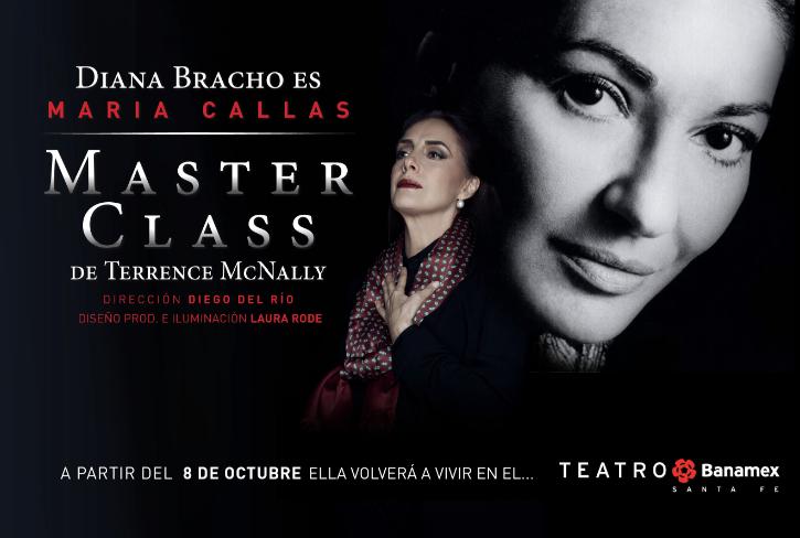 Gran Estreno de Gala Tendrá MASTER CLASS Este Miércoles 8 de Octubre en  el Teatro Banamex Santa Fé