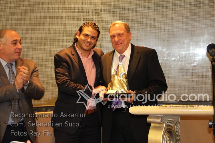 Reconocimiento Askanim Sefaradi en Sucot  0069