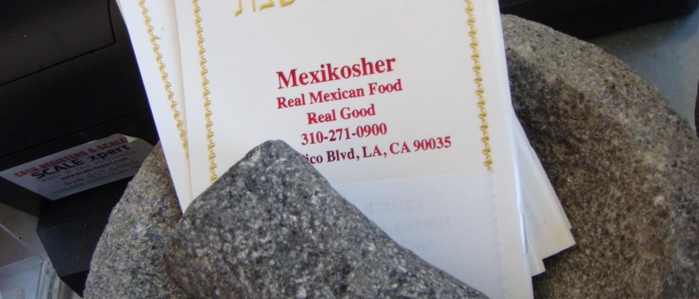 Chef México-Japones que hizo carrera con la Cocina Kosher