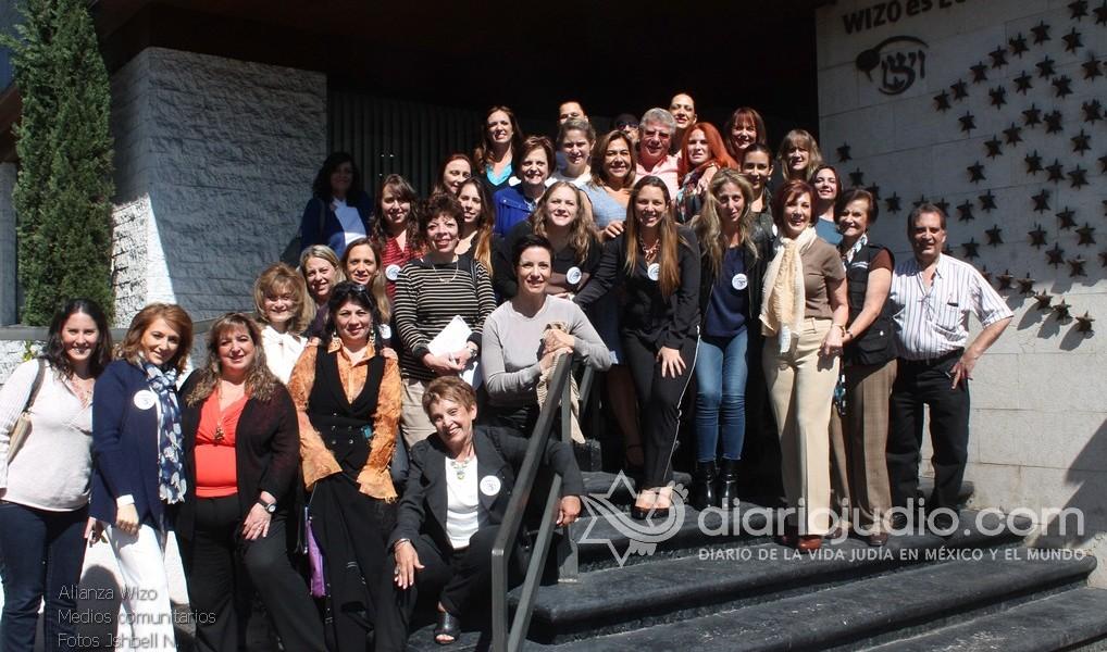 Alianza de las Mujeres judías de la Wizo México con los medios comunitarios