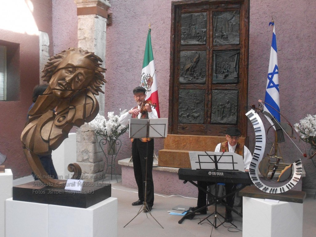 """""""El violinista en el tejado"""", en el Instituto Cultural México-Israel"""