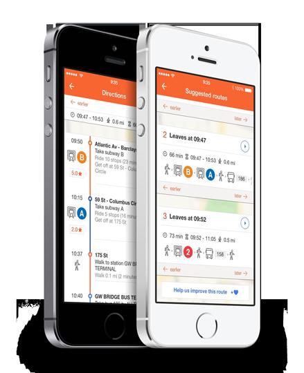 La App recomendada Moovit para viajar en transporte público en México y el Mundo