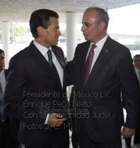 Comunidad Judía de México con Enrique Peña Nieto Fotos presidencia 0003