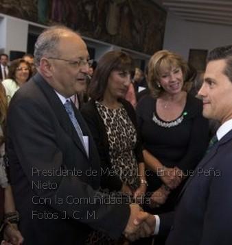 Comunidad Judía de México con Enrique Peña Nieto Fotos presidencia 0017
