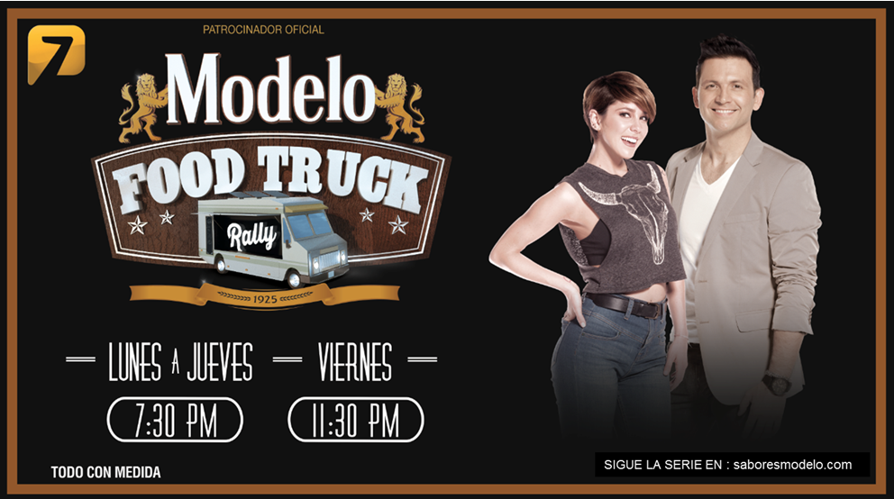 En TVAzteca, Modelo Presenta el Primer Reality Show de Food Trucks en México