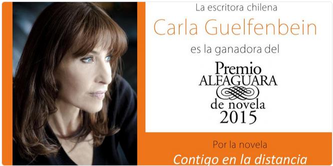 Chilena de Origen Judía ganadora de Premio Internacional Alfaguara 2015