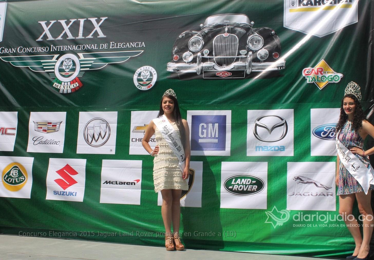 Lo mejor del Concurso de la Elegancia Automotriz, Jaguar y Land Rover