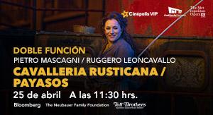 ópera del MET Cavalleria Rusticana (Mascagni)