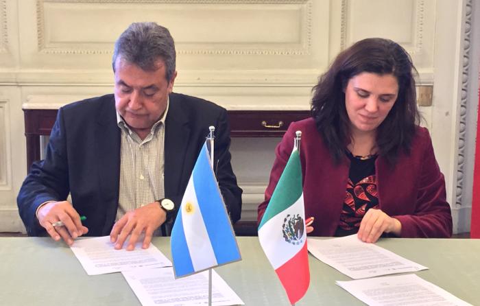 Firman México y Argentina Protocolo de Coproducción y Distribución Para Largometrajes