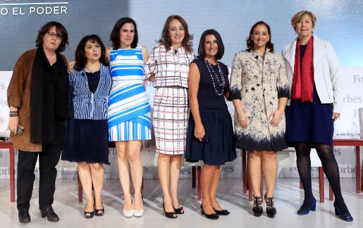"Participa Claudia Ruiz Massieu en el Foro  ""Mujeres Poderosas de la Revista Forbes"""