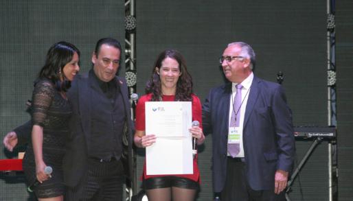 Ximena Sariñana se Presentó en La Feria Universitaria del Libro 2015