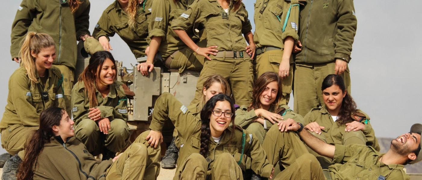 Fotos de mujeres en el ejercito israeli 76
