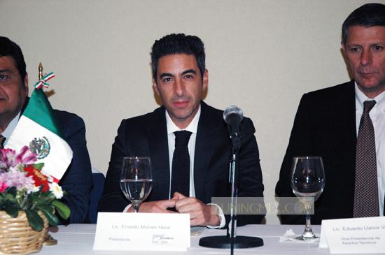 Ernesto Mizrahi Haiat Presidente de la AMBA e importante convenio con el Consejo Ciudadano