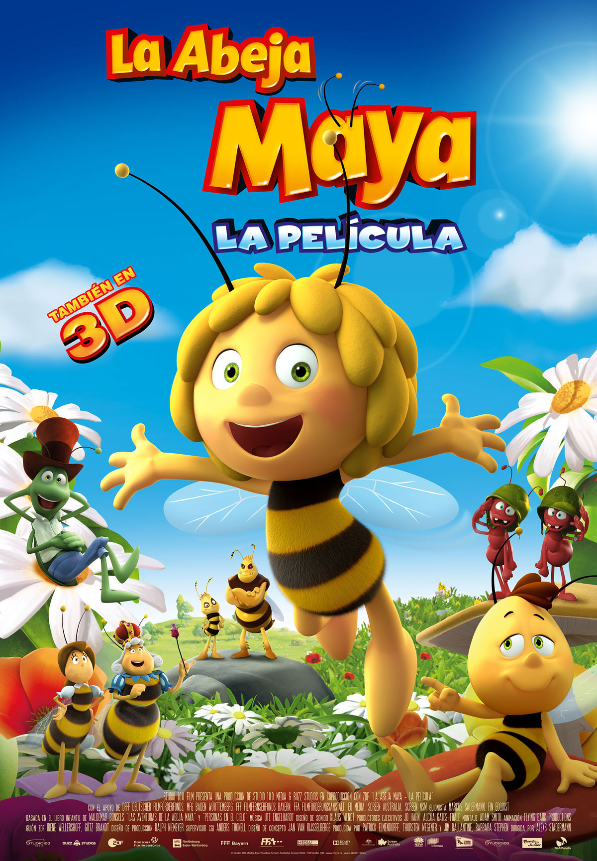 """Cinépolis Distribuciónlanza """"La Abeja Maya – la película"""""""