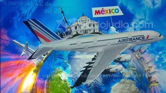 ¡El A380 de Air France muy pronto en México!