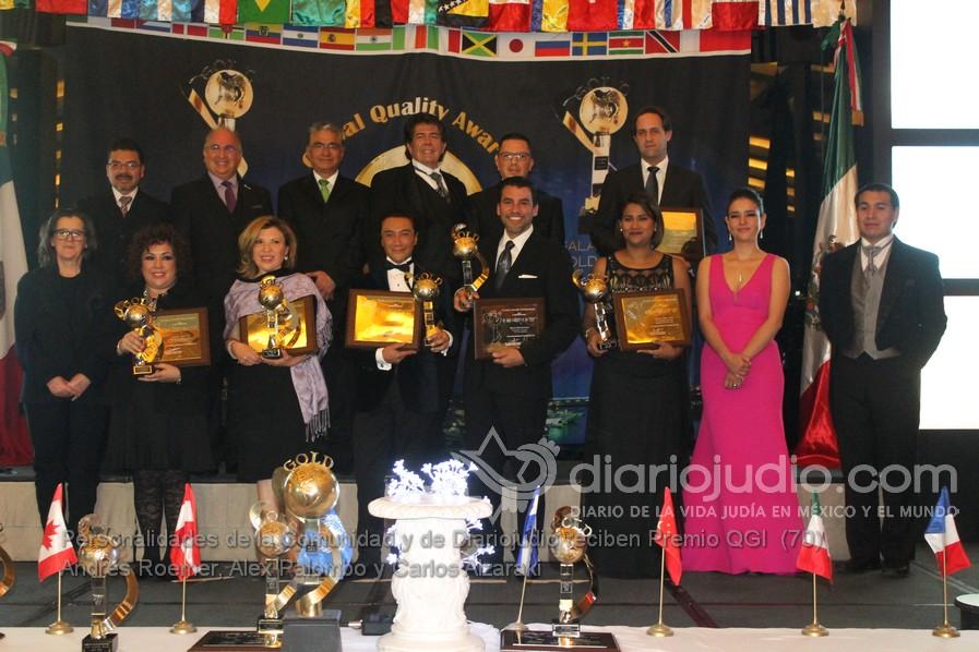 Importante Premio a Personalidades de la Comunidad y de DiarioJudio.com