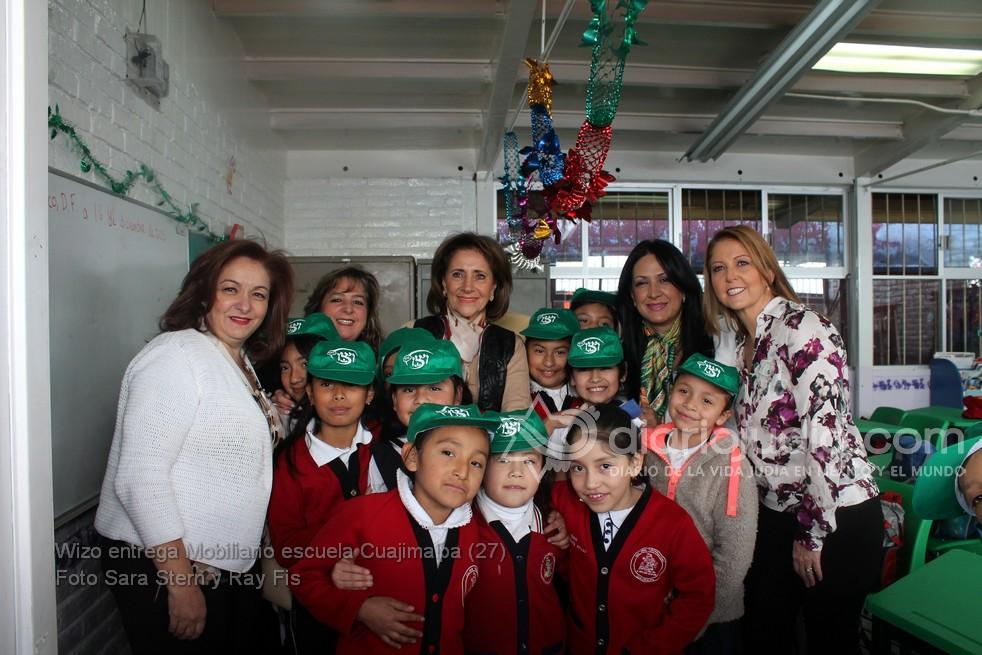 WIZO de la comunidad Judía de México beneficia a 641 niños de Cuajimalpa