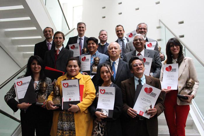 Perelman y Shabot reciben Premio Ibero por labor social