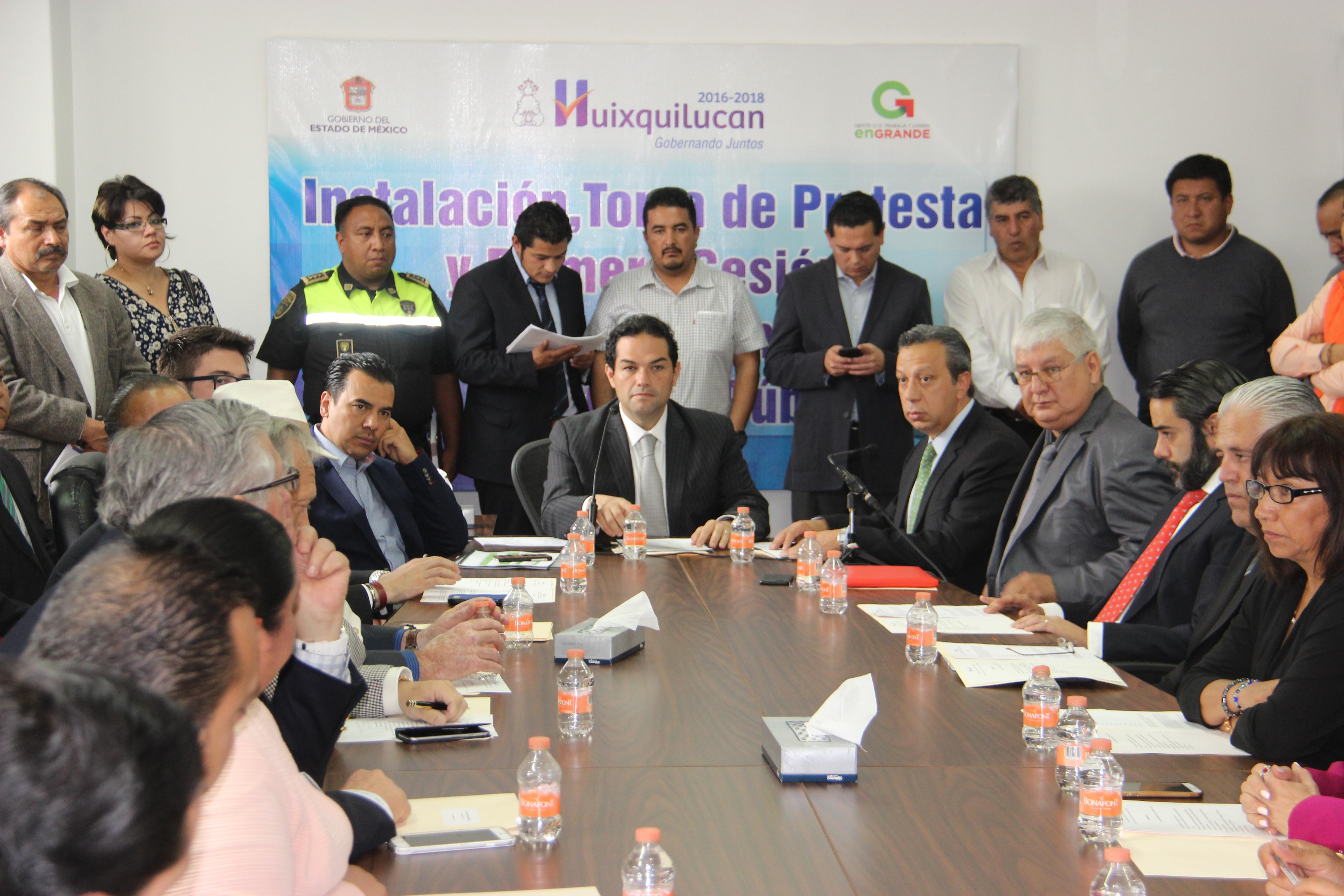 Se instala consejo municipal de Seguridad publica con participación de la Comunidad