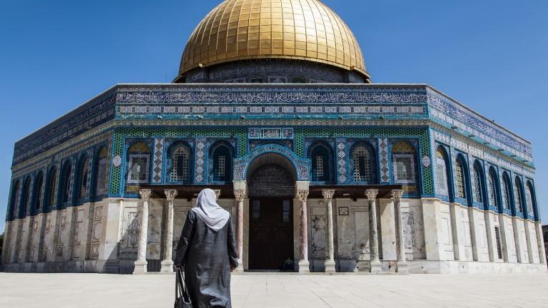 El Domo de la Roca de Jerusalen. Foto de Tomer Eliash.