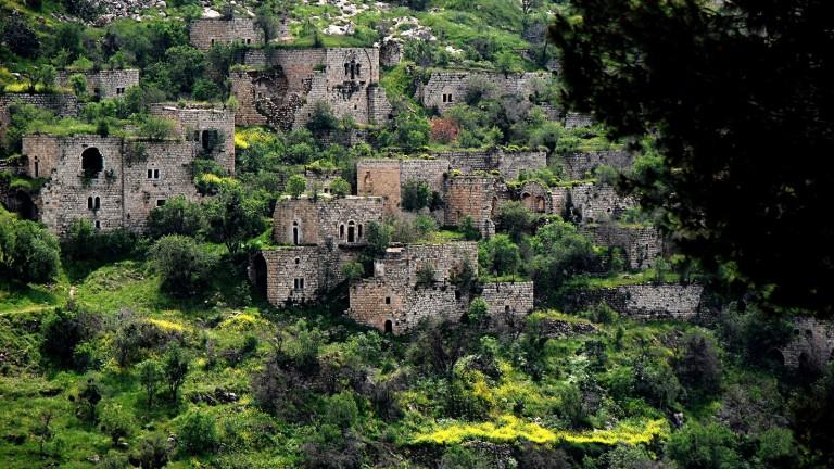 Ruinas del poblado de Lifta, en las afueras de Jerusalen. Foto de Yehudit Eliaf.