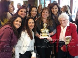 Premio Benito Juárez a las mujeres judías WIZO de México (319)