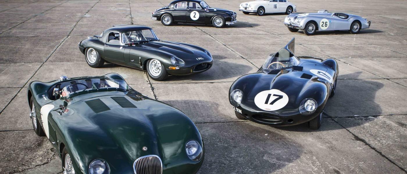 Jaguar Land Rover celebra el gran futuro de sus Clásicos