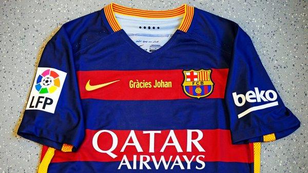 Camisetas de Barcelona y Macabbi Tel Aviv hermanadas