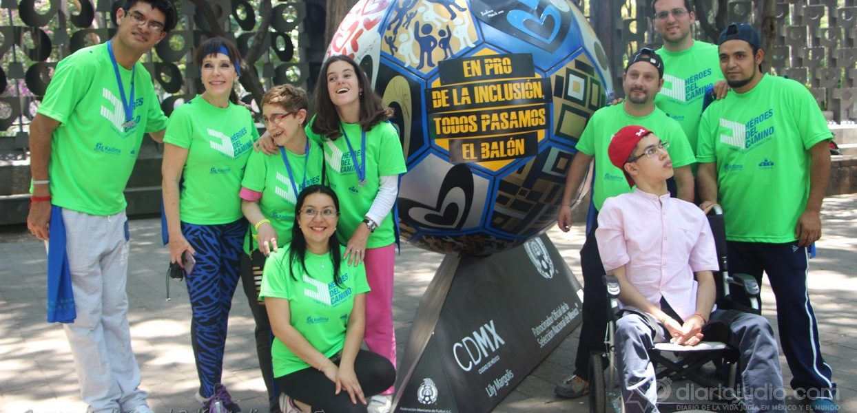 Corriendo con Kadima y listos para pasar el Balón en pro de la Inclusión, Kadima