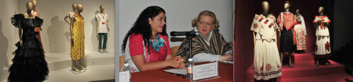 Historia  de la Moda en México, en El Palacio de Iturbide