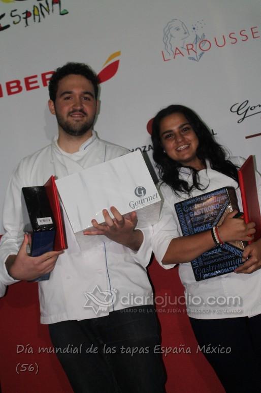 Sergio Schipper y Daniela Abadi Finalistas del Concurso del Día internacional de Tapas España
