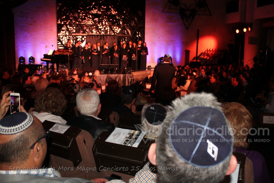 Fernando de la Mora en Festejando a Ramat Shalom en su 25 aniversario