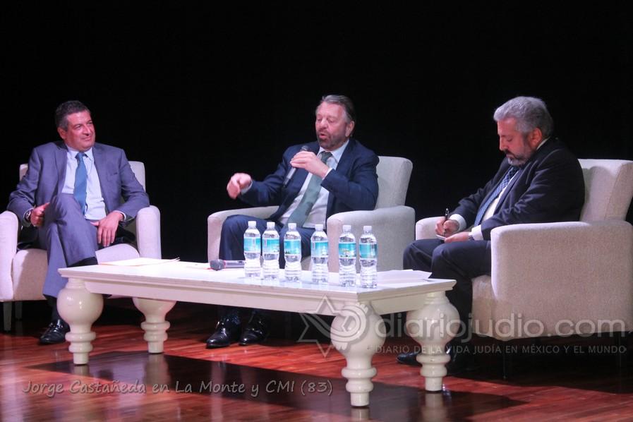 Hablando de Política,corrupción, candidatos independientes, Israel, Judaísmo y mas con Jorge Castañeda