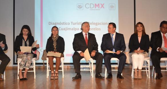 Entregó la Secretaría de Turismo de la Ciudad de México un Diagnóstico Turístico de la Delegación Cuajimalpa