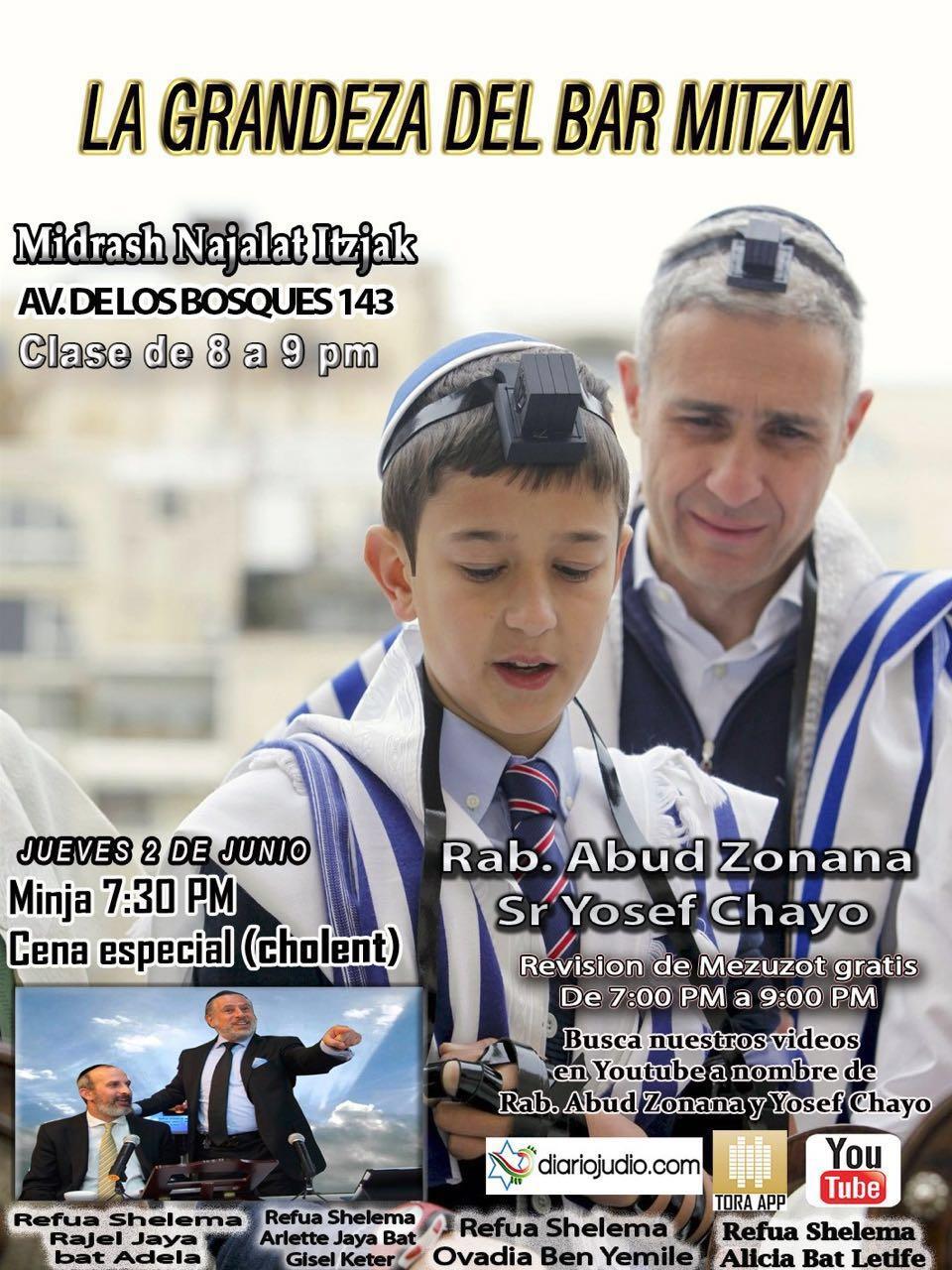 La grandeza de la Bar Mitzvah