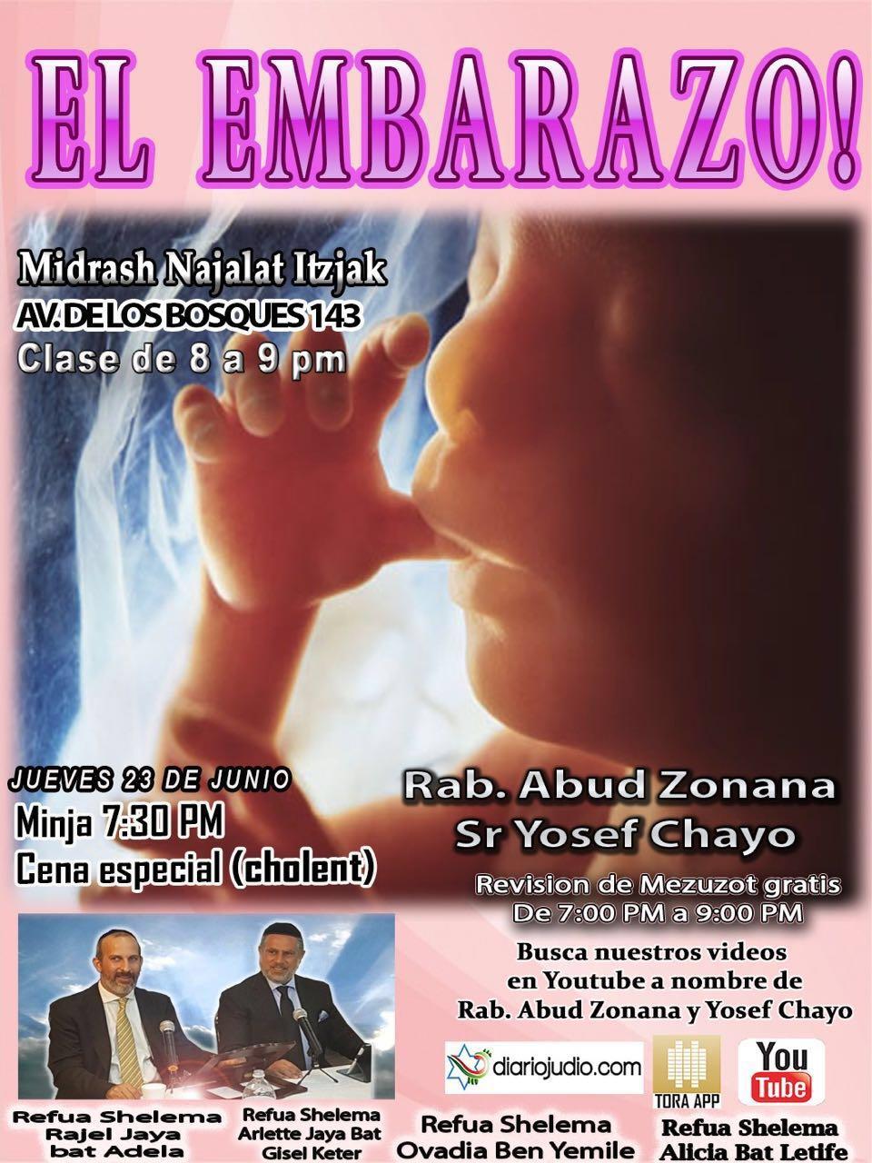 Tips para el embarazo, sobre infertilidad y el judaismo